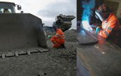 Heavy equipment welding repair by Ottawa welder J&L Mobile Welding
