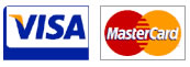 Visa and Mastercard payment options