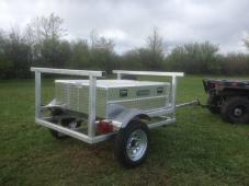 custom kayak trailer