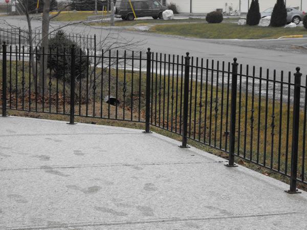 Ottawa custom fence by Almonte welder J&L Mobile Welding