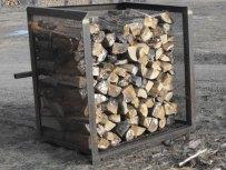 Ottawa metal fabrication - cord wood bin