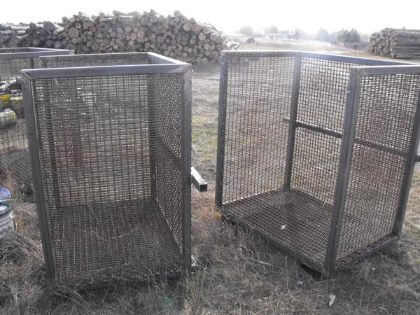 Ottawa welding services - cord wood bins