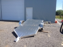custom aluminum motorcycle trailer