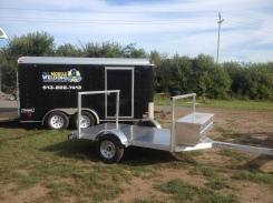 5x10 aluminum kayak utility trailer 214