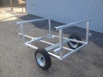 aluminum kayak trailer
