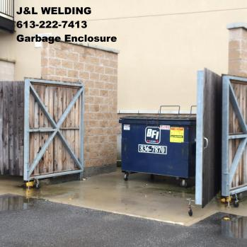 ottawa welding garbage bin enclosure